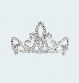 Gold Plastic Bridal Crown
