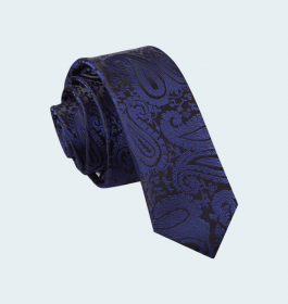 Men's Blue Patterened Ties