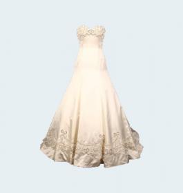 Bridal Wedding Ring Gown